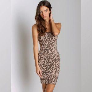 Free People Women's Seamless Animal Slip Dress